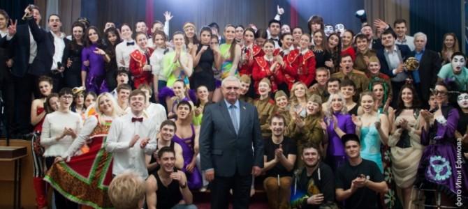 В академии состоялся гала-концерт «Студенческая весна – 2015»